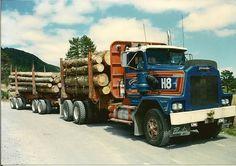 Heavy Duty Trucks, Cool Trucks, New Zealand, Retro, Canada, The Unit, Vehicles, Logs, Australia