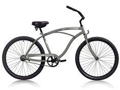 Micargi Touch-M-Mdgray Men's Cruiser Bikes, 26″/Medium, Matte Dark Gray http://coolbike.us/product/micargi-touch-m-mdgray-mens-cruiser-bikes-26medium-matte-dark-gray/