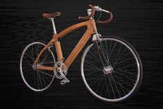 sustainable bamboo bikes for urban streets by guapa - designboom | architecture & design magazine