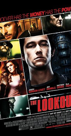 Directed by Scott Frank.  With Joseph Gordon-Levitt, Jeff Daniels, Matthew Goode, Isla Fisher. Chris is a once promising high school athlete whose life is turned upside down following a tragic accident. As he tries to maintain a normal life, he takes a job as a janitor at a bank, where he ultimately finds himself caught up in a planned heist.
