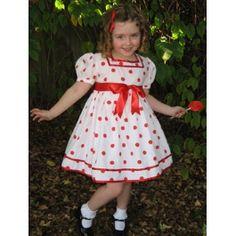 Little Shirley Temple Halloween Costume