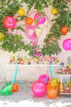 decoracion de uns fiesta de verano II