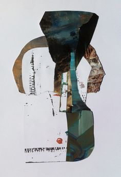Antony Densham 2016. Incidents and Accidents. Acrylic and magazine collage construction.