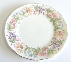Vintage Royal Albert Paragon 10.5 Dinner Plate by TheWhistlingMan