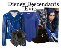 Disney Descendants: Evie by murphylovesturtles on Polyvore featuring polyvore, fashion, style, American Vintage, Alexander McQueen, NIKE, Yves Saint Laurent and Charlotte Russe