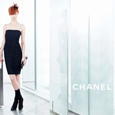 Lindsey Wixson + Sasha Luss for Chanel Spring/Summer 2014 Campaign