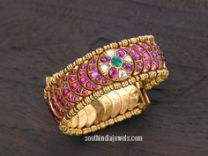 Classic ruby bangle from Arnav Jewellers