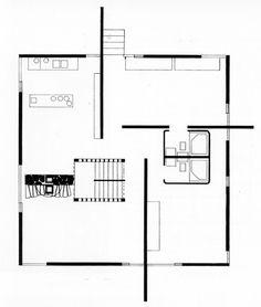 Chard F. Webb, House, Floor Plan, Phoenixville, Pennsylvania