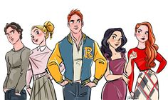 Image uploaded by Find images and videos about art, riverdale and betty cooper on We Heart It - the app to get lost in what you love. Archie Comics Riverdale, Gossip Girls, Twin Peaks, Live Action, Videos Kawaii, Riverdale Characters, Riverdale Cw, Betty And Veronica, Disney Artists