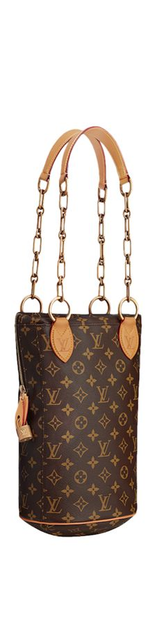 LOOKandLOVEwithLOLO~ Louis Vuitton Icon and Iconoclasts Collection. Punching bag Baby Karl Lagerfeld