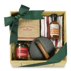 Smashed Burger Gift Crate by Williams-Sonoma $60