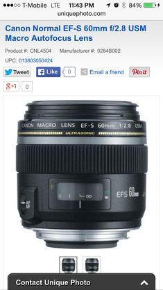 EF-S 60mm f2.8 MacroLens