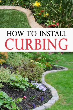 A nice clean garden edge gives your landscape definition and texture. Check out these 11 DIY lawn edging ideas for your yard! Lawn Edging, Garden Edging, Lawn And Garden, Garden Borders, Hillside Landscaping, Front Yard Landscaping, Landscaping Ideas, Outdoor Landscaping, Reseeding Lawn