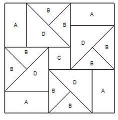 estrellas de patchwork patrones - Buscar con Google