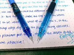 Pilot: V5 Hi-Tecpoint - On Fountain Pens, June 2012