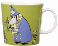 Arabia Moomin Mug - The Inspector: Amazon.co.uk: Kitchen & Home