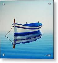 Image result for acrylic paintings of boats