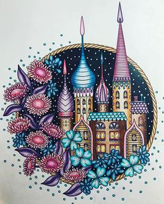 Magiskgryning Magicaldawn Hannakarlzon Adultcoloring Coloring TipsAdult ColoringColoring BooksColored