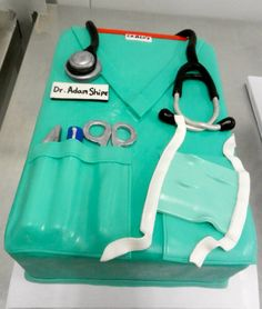 The doctor (cake) is in.