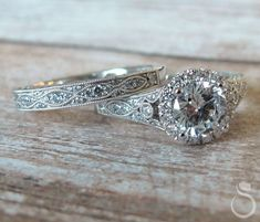 It's the band I like #unique #vintage #engagementrings