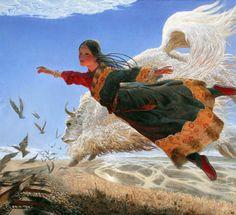 Wang Yidong (王沂东; b1955, Yimeng Mountain area of Shandong Province, China)