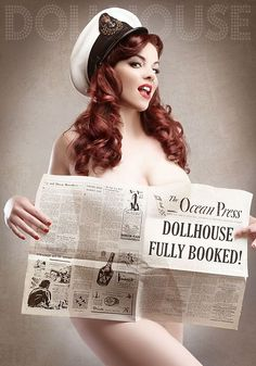 Doll House Photography Pin Up Burlesque Make Over