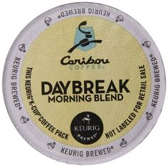 Keurig, Caribou Coffee, Daybreak Morning Blend, K-Cup packs, 48-Count ** Awesome product. Click the image : K Cups