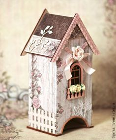 "Чайный домик ""Шебби"". Handmade."