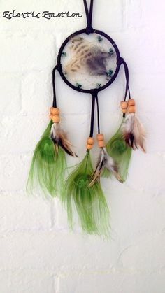 °Green Forest Dream Catcher Native American by EclecticEmotion