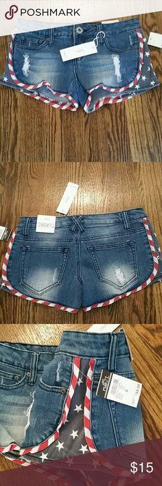 Patriotic flag shorts. Rue 21 Jean shorts. Make offer. Rue 21 Shorts