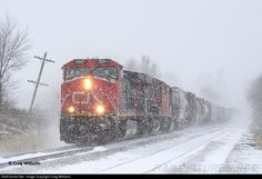 RailPictures.Net Photo: CN 2201 Canadian National Railway GE ES44DC at Jesup, Iowa by Craig Williams