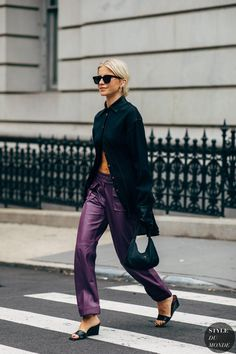 New York Fashion Week Delivered All the Street Style You've Been Waiting For New York Fashion Week Street Style, Spring Street Style, Street Chic, Street Fashion, Men Street, Paris Street, Mode Outfits, Fashion Outfits, Trendy Outfits