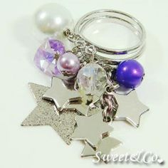 Sweet Stars and Pearl Silver Ring Silver Pearls, Silver Rings, Pearl Earrings, Education, Stars, Sweet, House, Jewelry, Candy