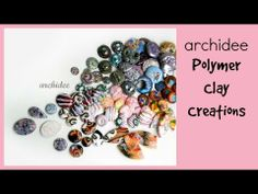 Polymer Clay Cabochons Update   New Millefiori Canes   Glitter   Striped   Eyes   Faux Opal