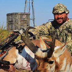 Nebraska Archery Antelope Hunts on Private Ground