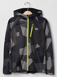 GapFit kids colorblock zip hoodie