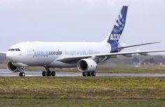 Airbus A330-200F freighter - via PJ de Jong