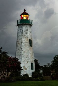 Old Point Comfort #Lighthouse - Fort Monroe - Hampton, #VA - http://dennisharper.lnf.com/