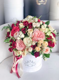Flower Box Gift, Flower Boxes, My Flower, Home Flowers, Luxury Flowers, Beautiful Flower Arrangements, Floral Arrangements, Ikebana, Beautiful Roses