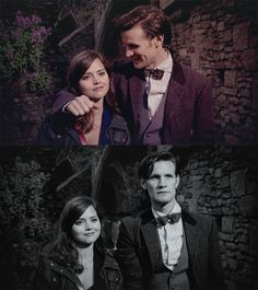 S7E8 Hide - I love the Doctor's face in the second pic. It's right after the line about it being all about love. Bless his heart. I feel like he's trying so hard not to love someone else too much...