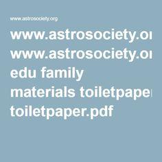 www.astrosociety.org edu family materials toiletpaper.pdf