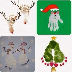 Christmas Cards Crafts For Toddlers