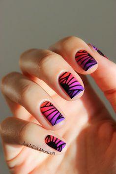 LA NPA MOUTON #nail #nails #nailart   http://amykinz97.tumblr.com/    https://instagram.com/amykinz97/  