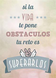 Especialista en salto de obstáculos... Si la vida te pone obstáculos, tu reto es superarlos #motivación  #frases
