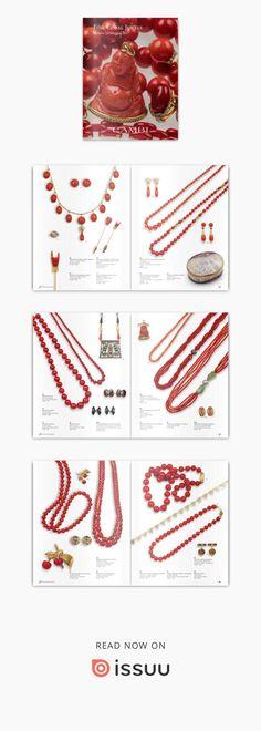 Asta 0297  Una selezione di gioielli ed ornamenti con coralli provenienti da affidamenti privati