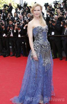 第67回カンヌ国際映画祭(Cannes Film Festival)のオープニングのレッドカーペットに登場したニコール・キッドマン(Nicole Kidman、2014年5月14日撮影)。(c)AFP/VALERY HACHE ▼15May2014AFP|カンヌ国際映画祭、N・キッドマンのダンスで開幕 http://www.afpbb.com/articles/-/3014948 #Nicole_Kidman #Cannes_Film_Festival #Festival_de_Cannes #Filmfestspiele_von_Cannes