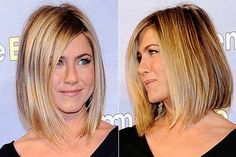 Jennifer Aniston  bob this is what I'm going for
