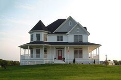 Front View - 2400 square foot Country Home