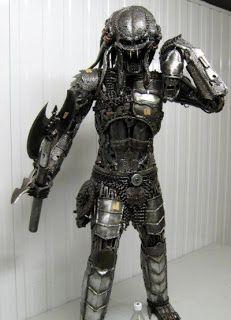 a scrap metal predator