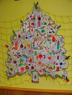 Kindergarten tree of joy Advent Calendar, Kindergarten, December, Joy, Holiday Decor, Home Decor, Decoration Home, Room Decor, Advent Calenders
